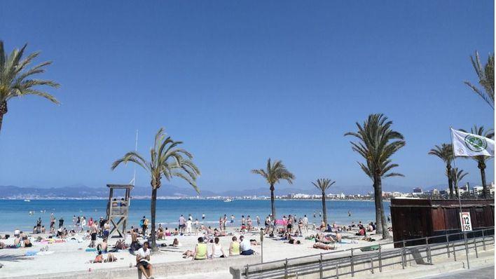 Sol y calor este sábado en Balears