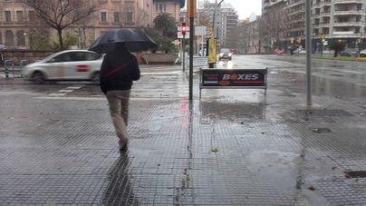 Las lluvias superan los valores habituales en Balears del 1 de octubre al 8 de mayo
