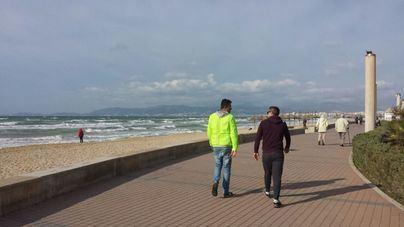 Cambio de tiempo, a peor, con alerta amarilla por fuerte viento en Balears