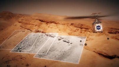 La NASA envía un helicóptero en la misión Mars 2020 a Marte