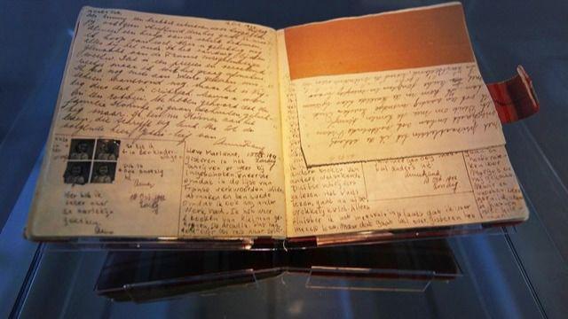 Publicadas dos páginas desconocidas del diario de Ana Frank