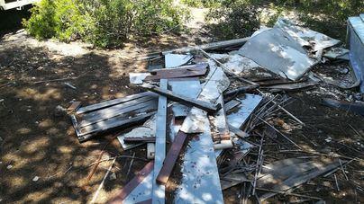 Calvià recoge 780 kilos de residuos en la Marina de Magaluf