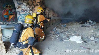 Tercer incendio en lo que va de año en la plaza de toros abandonada de Son Rapinya