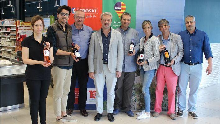 Eroski vendió el año pasado 70.000 litros de vino con DO Binissalem
