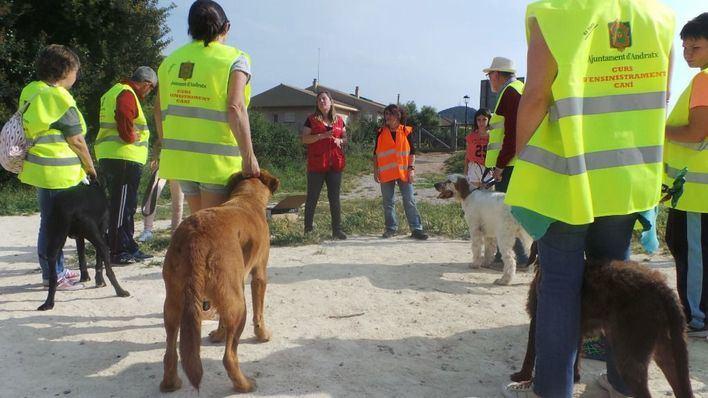 Andratx apuesta por el adiestramiento canino y el civismo de los propietarios