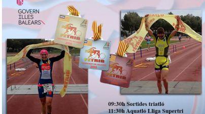 Camp de Mar acoge el Campionat de Balears de Triatló Sprint