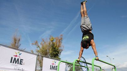 20 deportistas compiten en el Campeonato Balear de Street Workout