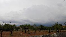 Cielos cubiertos con tormentas ocasionalmente fuertes en Baleares