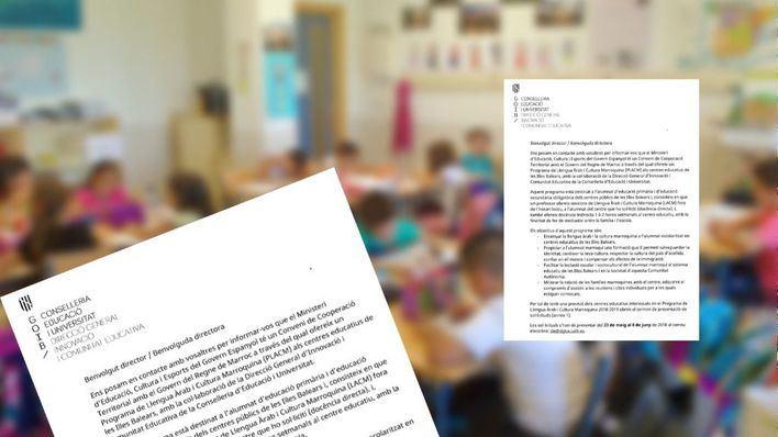 El Govern anima a las escuelas a impartir clases de árabe y cultura marroquí