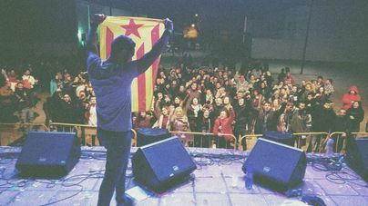 El entorno de Valtonyc asegura que ha recibido ayuda del independentismo catalán