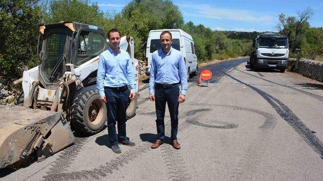 Santanyí invierte 112.000 euros en el asfaltado de caminos