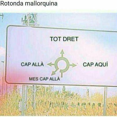 """La noticia falsa de El Viral: nueva señalización en las carreteras escrita en """"bon mallorquí"""""""
