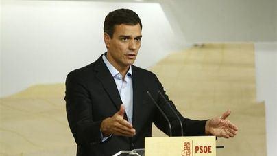 El PSOE registra en el Congreso la moción de censura contra Rajoy