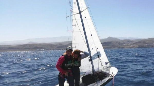 Homenaje a las campeonas de España Maria Bover y Cata Homar