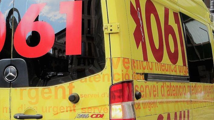 El 112 retira una probeta con una etiqueta de 'ébola' de un piso de Palma