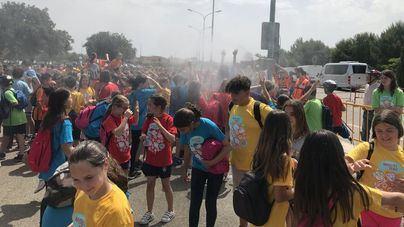 600 niños recorren Marratxí en bici por la IV Diada Ciclista