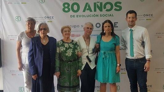 ONCE celebra su 80º aniversario con un homenaje a los afiliados