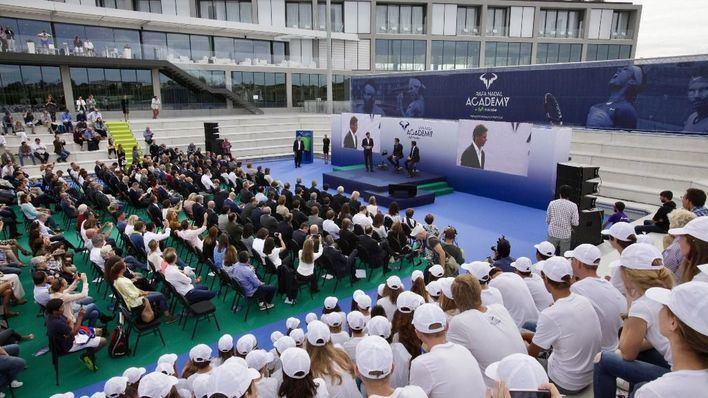 La Academia Rafa Nadal aspira a consolidarse como referente tras su ampliación