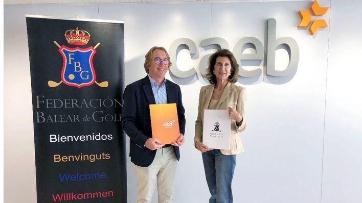 CAEB y Federación Balear fomentan el golf en las empresas