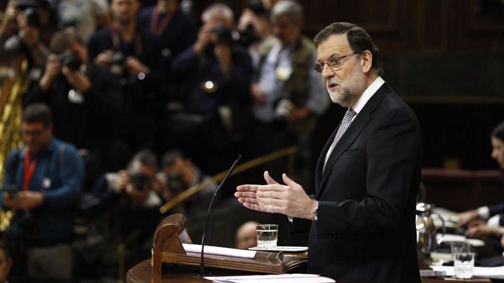 Rajoy acusa a Sánchez de no tener proyecto