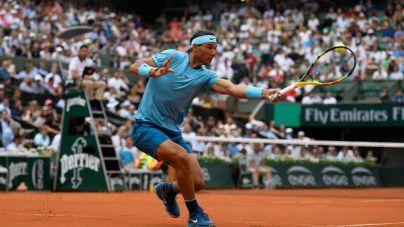 Nadal ya está en tercera ronda de Roland Garros tras aplastar a Pella