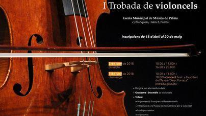 Palma acoge este fin de semana el I Encuentro de Violonchelos