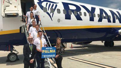 Ryanair inaugura una nueva ruta entre Zaragoza y Palma