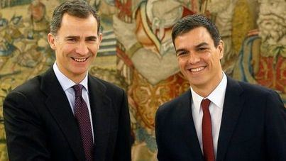 Pedro Sánchez promete el cargo de presidente ante el Rey