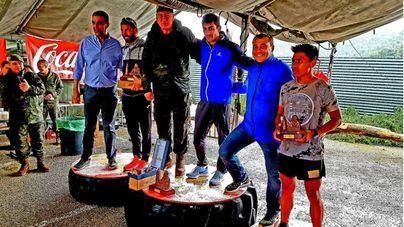 Los atletas se imponen a la lluvia en la Carrera de Montaña Desafío FAS