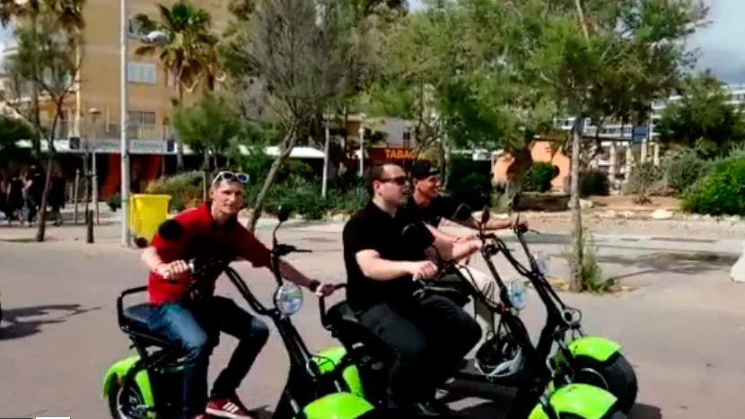 El último grito en Playa de Palma y s'Arenal: la motopatinete eléctrica