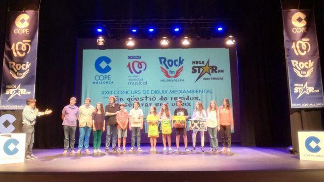 Cadena COPE entrega los premios de dibujo medioambiental