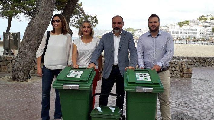 Calvià promueve el reciclaje de envases de vidrio en la hostelería