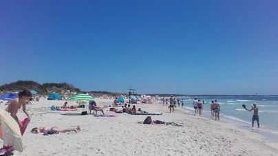 Retrasos de ayuntamientos dejan sin limpieza y servicios playas de Mallorca