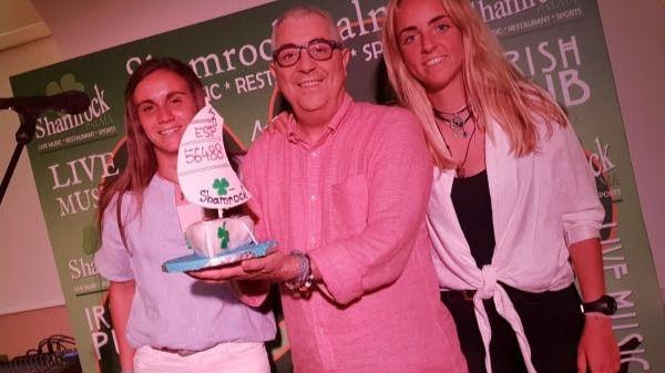 Homenaje a las campeonas de España de Vela Maria Bover y Cata Homar