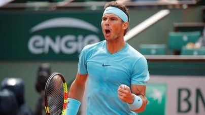 Nadal derrota a Del Potro y jugará su undécima final de Roland Garros