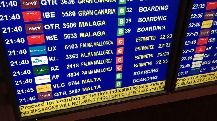 Medio centenar de vuelos cancelados en Baleares este fin de semana