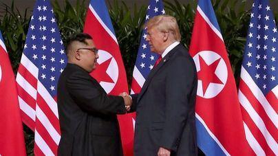 Trump y Kim, histórico encuentro en Singapur