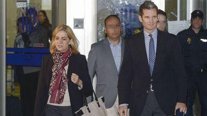 La Infanta Cristina y sus hijos seguirán en Ginebra mientras Urdangarín cumpla condena