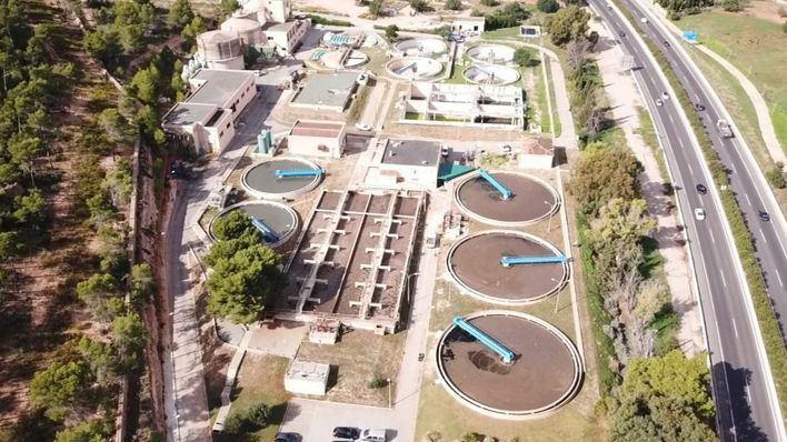 La depuradora de Santa Ponça regenerará el agua residual de Calvià