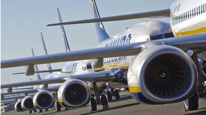 Alertan del inminente colapso aéreo este fin de semana por otra huelga de controladores franceses