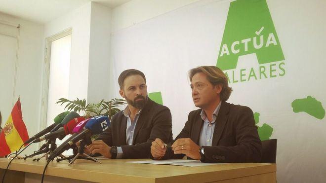 """Actúa Baleares y Vox sellan su coalición electoral en Palma para """"aquellos que no se sienten representados"""""""