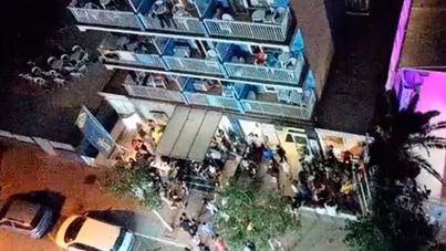 Tensión vecinal ante la invasión de estudiantes adolescentes en s'Arenal