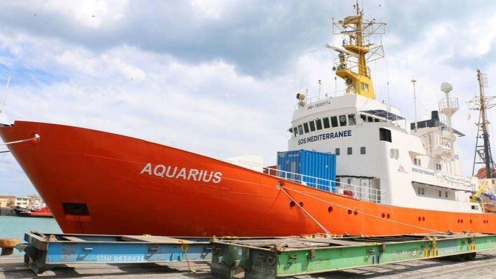 Los migrantes del Aquarius tardarán alrededor de cuatro semanas en llegar a Balears