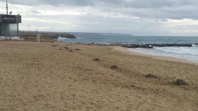 Buzos de la Guardia Civil continúan la búsqueda del bañista de 22 años en la playa de Can Pere Antoni