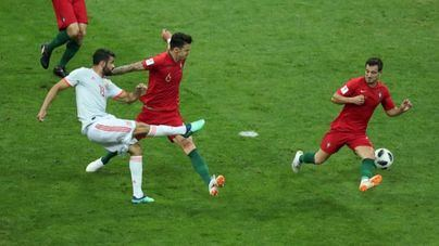 España se estrena en el Mundial de Rusia con un 3 a 3 contra Portugal