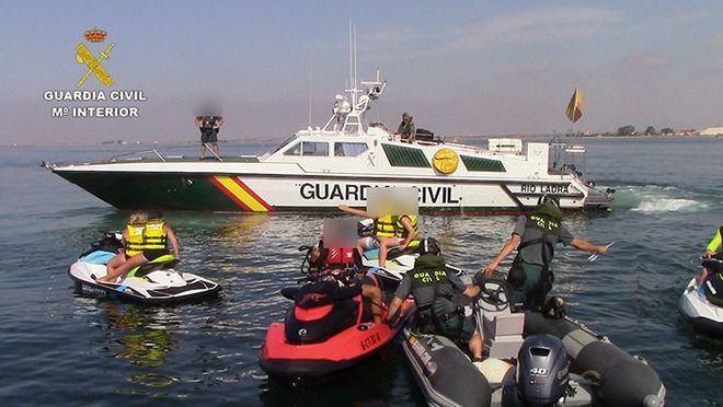 La Guardia Civil inicia una campaña de inspecciones de embarcaciones deportivas y de recreo