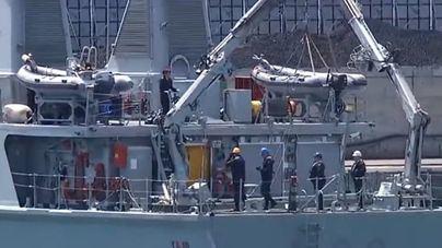 La Armada rescata el cuerpo del piloto del Ibanat sumergido a 60 metros de profundidad