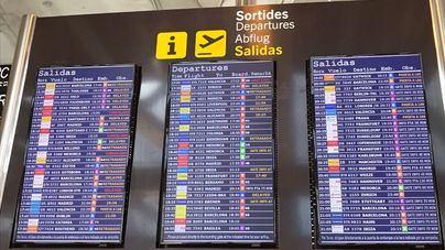 68 vuelos cancelados en los aeropuertos de Balears por la huelga de controladores franceses