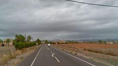 Muere atropellada una mujer en la carretera de Campos-Santanyí