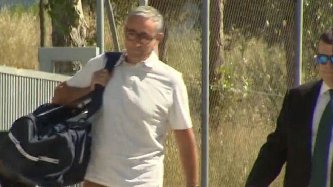 Diego Torres ingresa en la cárcel Brians 2 en Sant Esteve Sesrovires, Barcelona